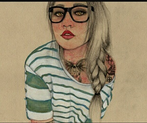 chicas, girls, and hipsters image