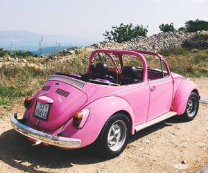 car and pink image