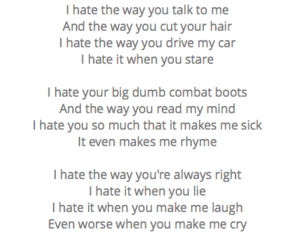 10, 10 things i hate about you, and hate image