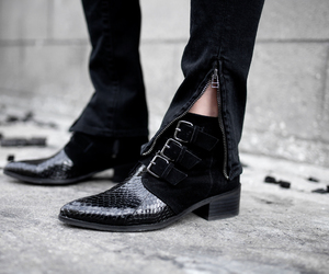 ankle boots, fashion blogger, and grunge image