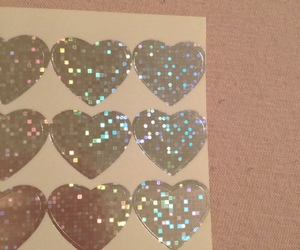 hearts and stickers image
