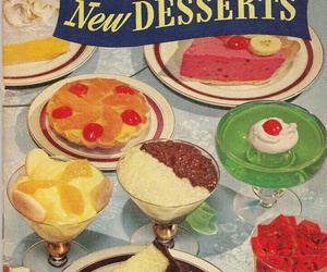candies, pie, and vintage image