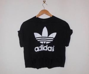 adidas, black, and shirt image