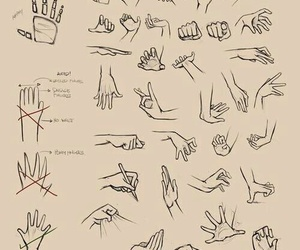 drawing, hands, and draw image