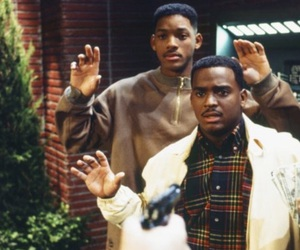 will smith, carlton, and fresh prince image