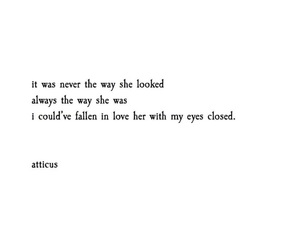atticus, beautiful, and fall in love image