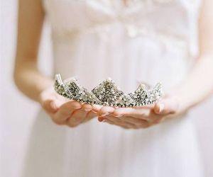princess, crown, and beautiful image