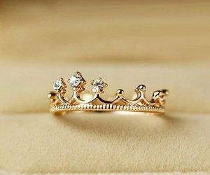 ring, crown, and diamond image