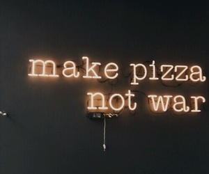 pizza and neonsign image