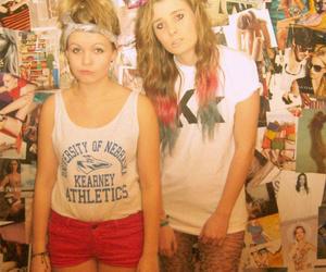 cool, dip dye, and girl image