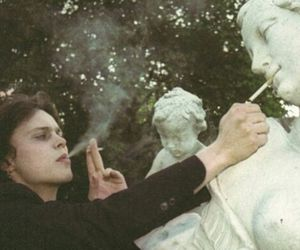cigarette, smoke, and ville valo image