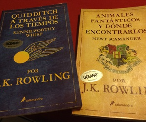 j.k. rowling, libros, and animales fantásticos image