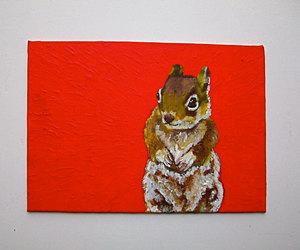 animal art, etsy, and funny art image