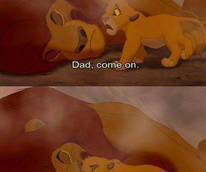 sad, lion king, and cute image