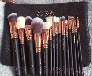 Brushes, makeup, and zoeva image