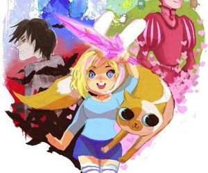 adventure time, cake, and marshall lee image