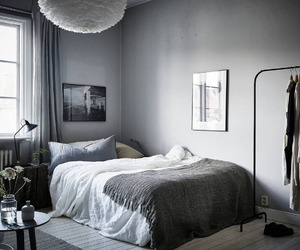 bedroom, art, and home image