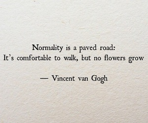 quote, quotes, and normality image