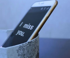 come back, i miss you, and iphone image