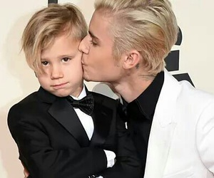 justin bieber, cute, and brothers image