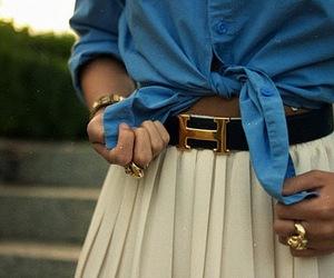 fashion, skirt, and hermes image