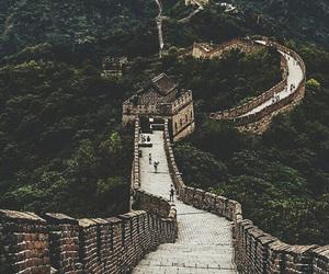 travel, china, and nature image