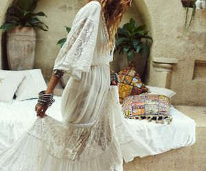 boho, fashion, and dress image