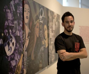 lp, linkin park, and art image