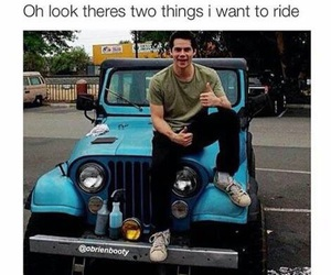 teen wolf, dylan o'brien, and jeep image