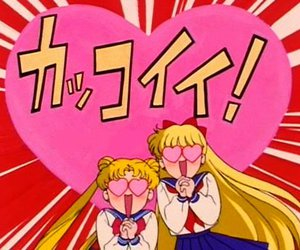 anime, sailor moon, and セーラームーン image