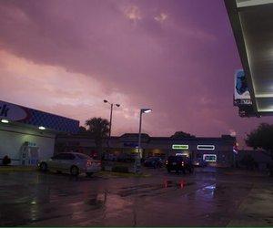 purple, grunge, and sky image