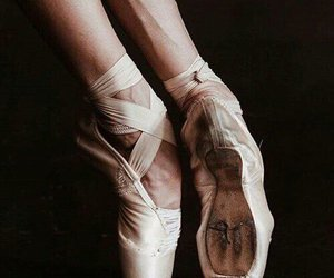 ballet, dance, and dark image