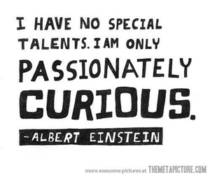black and white, cool, and einstein image