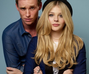 eddie redmayne and chloe grace moretz image
