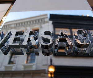 Versace, luxury, and store image