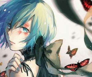 anime girl, drawing, and illustration image
