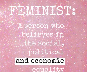 feminist, flawless, and pink image