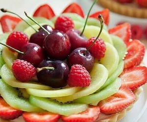cherry, frutas, and lovely image