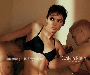 beauty, Calvin Klein, and model image