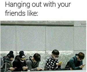 kpop, friends, and funny image