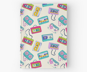 pattern, cassette, and colorful image