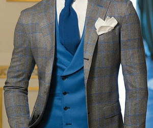 blue, fashion, and grey image