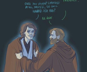friendship, master, and star wars image
