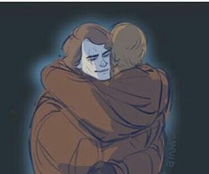Anakin Skywalker, friendship, and star wars image