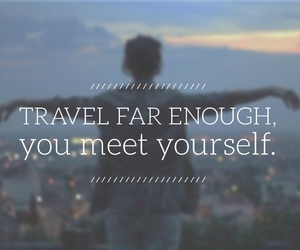 easel, quotes, and travel image