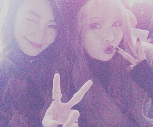 tiffany, hyuna, and snsd image