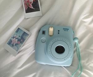 blue, camera, and film image