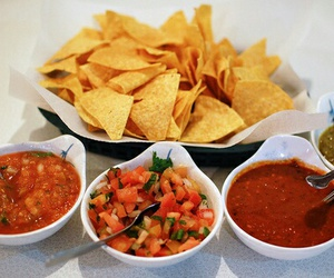 food, nachos, and chips image