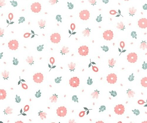 flowers, wallpaper, and green image