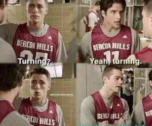 teen wolf, jackson, and unicorn image